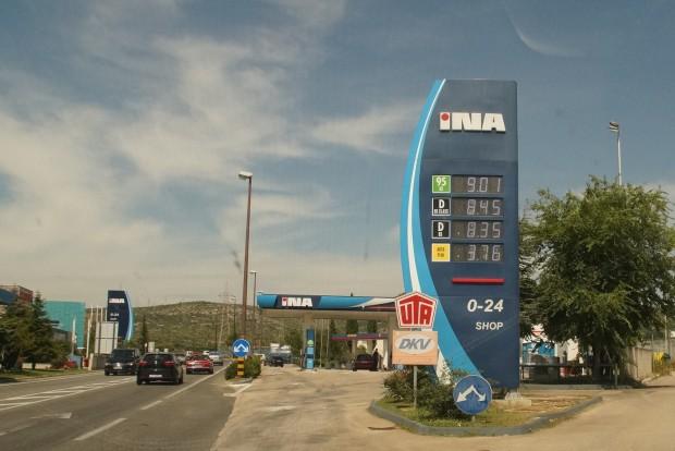 Az üzemanyag drágább a horvátoknál, mint nálunk, de a sztrádán már nem is olyan sokkal
