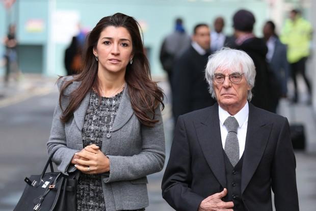 """F1: """"Futárszolgálat"""" rabolta el Ecclestone anyósát"""