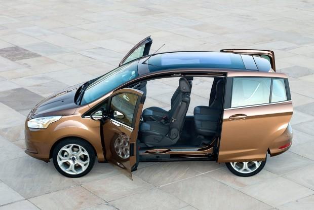 Kompakt egyterű: Ford B-Max (Nissan Note, Honda Jazz)