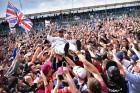 F1: Hamilton rocksztárként ünnepelt Silverstone-ban