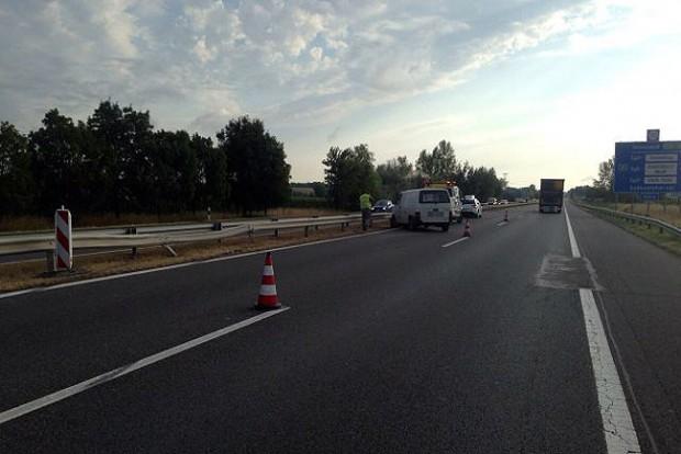 Forgalommal szemben ment egy autós az M1-esen