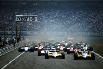 F1: Ökölharc a hockenheimi pályán - videó