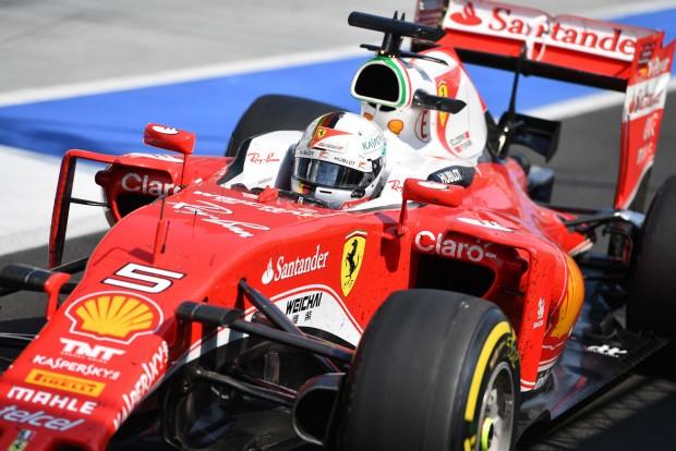 F1: Vettel kitart a Ferrarinál