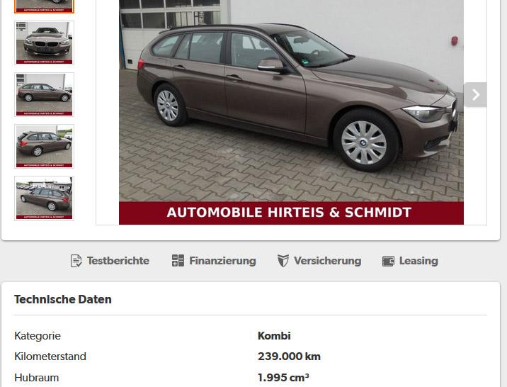 Három év, 239 000 km. A német autópályákon sokaknak belepörög ennyi a pont erre a célra vásárolt dízel kombiba