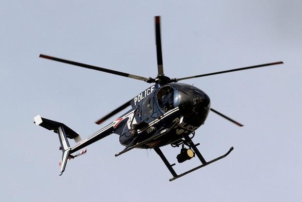 Helikopterrel is figyelik a magyar rendőrök az F1-et