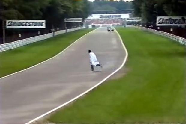 F1: Ember a pályán a Német Nagydíjon – videó