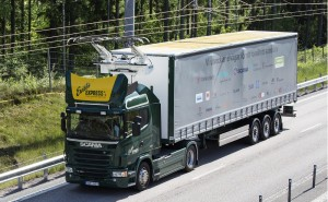 Átadták a világ első villamosított autópályáját