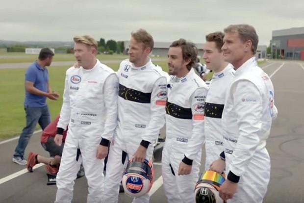 F1: Eszelős gokartozás a McLaren legendáival