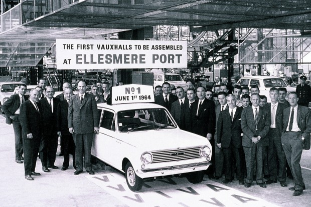 1964 óta termel az Ellesmere Port-i üzem