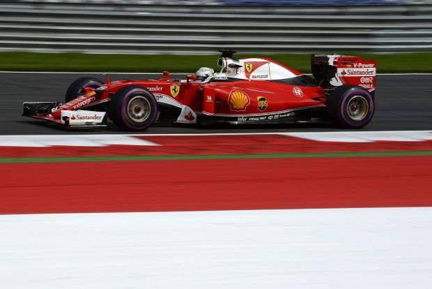 F1: Büntetés, Vettelt hátrasorolják