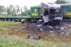 Tragédia Barcsnál: vonattal ütközött a kamion