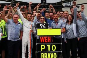 F1: Ezért szomorú a kiscsapat újonca