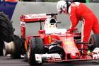 Vettel: Előjel nélkül robbant a gumi