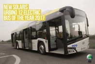 Elektromos busz lett az év busza