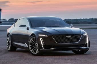 Jaguar-fenekű luxustanulmány a Cadillactől