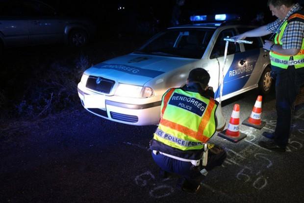 Rendőröket gázolt egy autós Vas megyében