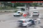 Rémálomba illő, rejtélyes baleset egy benzinkúton