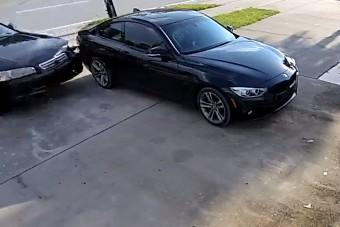Leírhatatlan mázlija volt ennek a BMW-nek