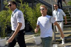 F1: Rosberg a motorokkal is hátrányban