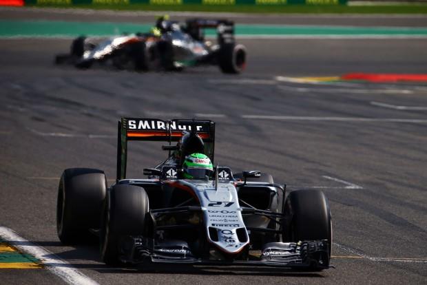 F1: Spa megint jó volt a Force Indiához