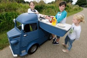 Miniatűr food truck, meg kell zabálni!