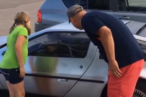 Apa kocsit akart lopni, aztán mégsem, kislánya pedig sokkot kapott