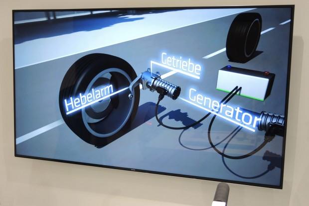 Elektromos áramot termel mozgásával a lengésscsillapító
