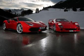 Pokoli duó: régi az új Ferrari ellen