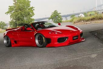 Mit műveltek ezzel a Ferrarival? Te jó ég!