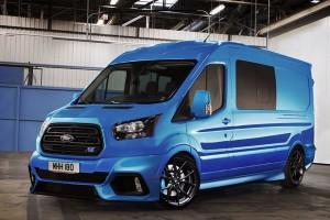 A Ford Transit RS megvan? És a Vito AMG?