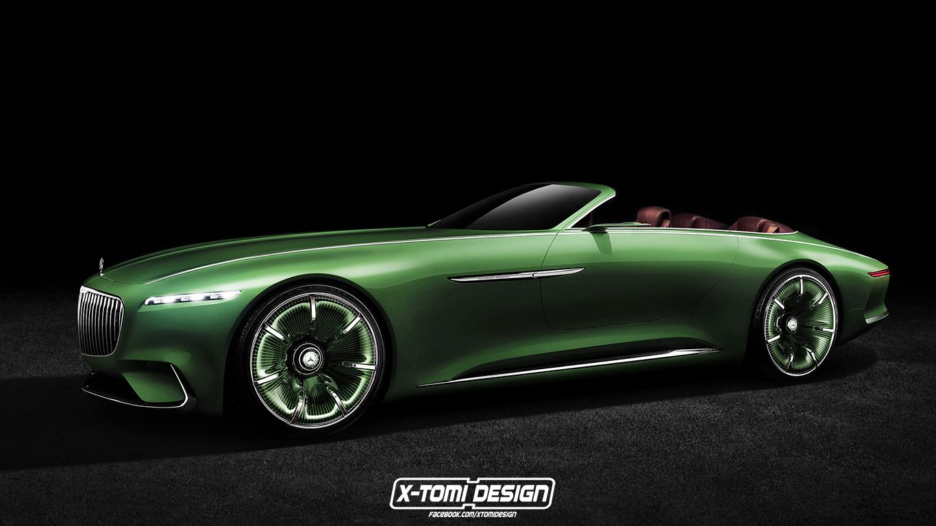 Mercedes-Benz Vision Maybach 6 Cabriolet Concept2