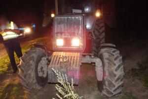 Traktoros üldözés volt Debrecen mellett