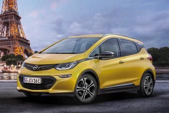 Veszett gyors lesz az Opel új villanyautója, az Ampera-e