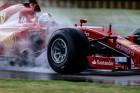 F1: Videón Vettel tesztbalesete