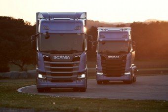 Harapós lett az új Scania