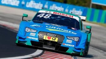 Tarolt az Audi a Hungaroringen