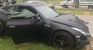 Haveroknak vágott fel a 18 éves srác Nissan GT-R-jével, kemény ütközés lett a vége