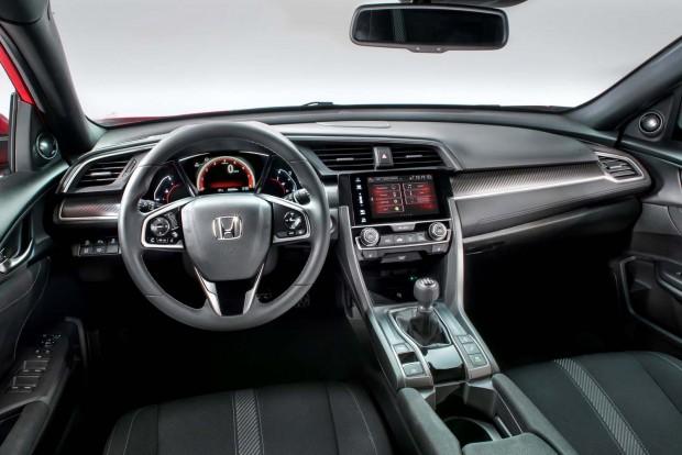 All-new 2017 Civic hatchback