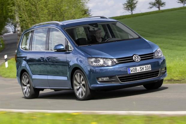 Új csúcsmotor a VW Sharanban