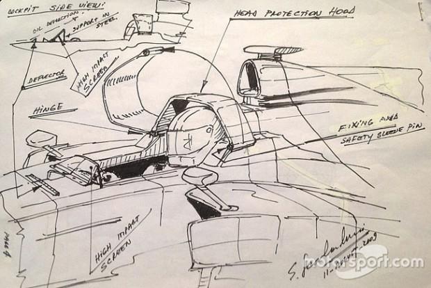 F1: Megmutatták az aktív szélvédő terveit, de hiába?