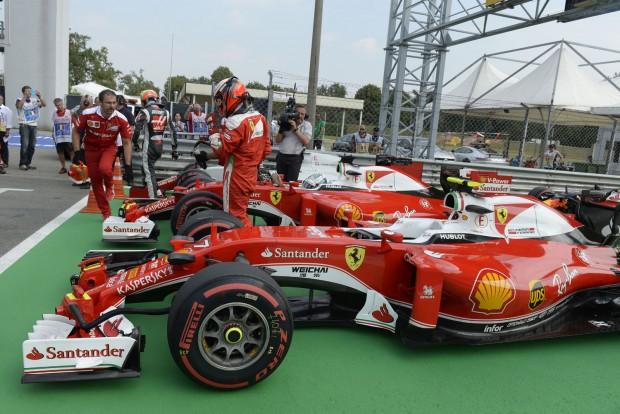 Räikkönen: Csak a második helyre hajthatunk