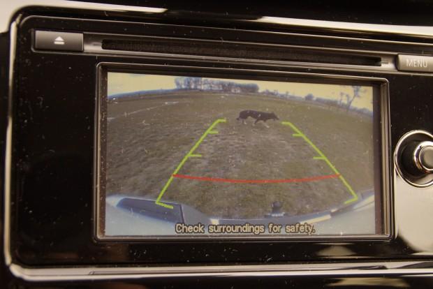 Praktikus a tolatókamera egy ekkora tankon
