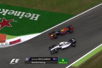 F1: Ricciardo úgy érezte, rá kell próbálni az év előzésére