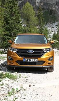 Csak nekünk új: Ford Edge