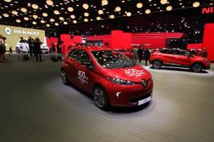 Renault Zoé 400 kilométeres hatótávval