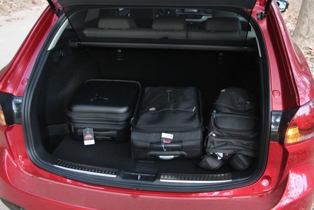 A kombi csomagtere 520 literes