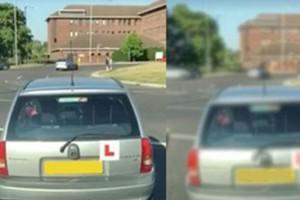 Tanulóvezető pokoli harca a körforgalommal