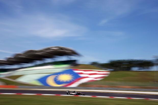 Malajzia ejtené Forma-1-et