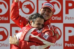 F1: Massa már-már lemondott Schumacherről
