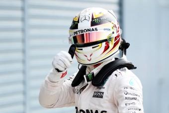 F1: Nézd meg Hamilton új sisakját!